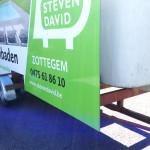 Steven David Reclame aanhangwagen